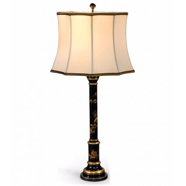 A Chinoiserie table lamp