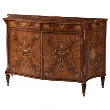 A fine Neoclassical Marlowe chest