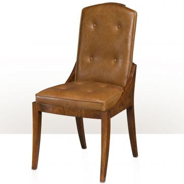 A hyedua veneer side chair