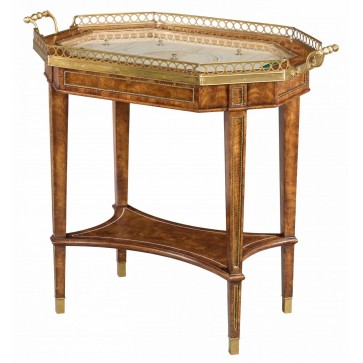 A light cerejeira bijouterie tray top table