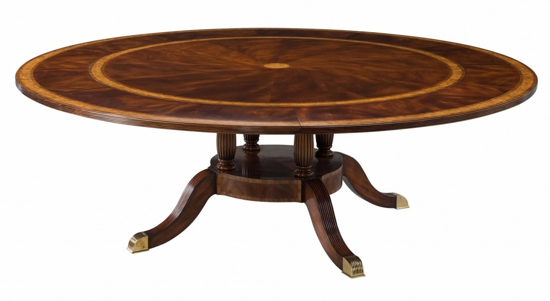 A mahogany and yew burl banded extending dining table  : 5992f0e3d77ca6ecbb62af5bcb19b49c8d56 from www.brightsofnettlebed.co.uk size 1094 x 598 jpeg 76kB