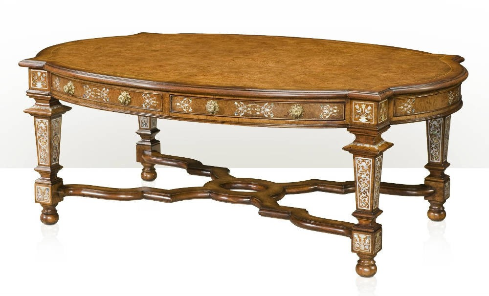 A Mother Of Pearl Inlaid Cocktail Table Coffee Tables From Brights Of Nettlebed