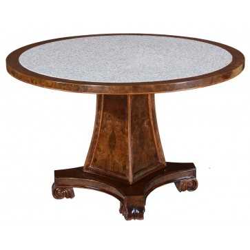 Adam style round dining table