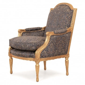 Alexander giltwood chair in Gainsborough Makins Paisley
