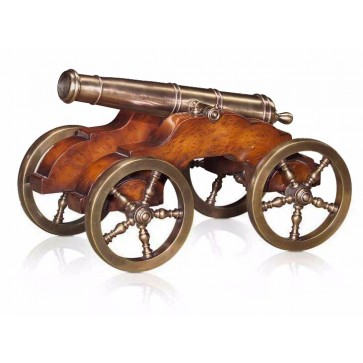 Althorp brass cannon