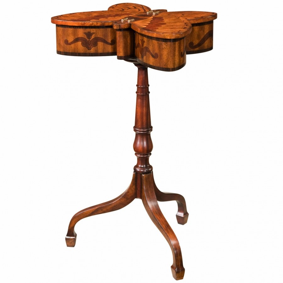 Althorp butterfly work table