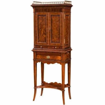 Althorp mahogany and rosewood cocktail cabinet