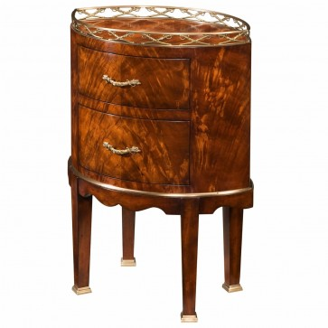 Althorp mahogany lamp table or bedside chest