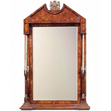Althorp mahogany overmantle mirror