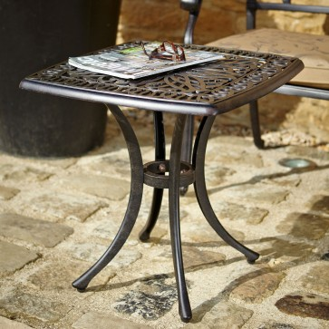 Amalfi square side table