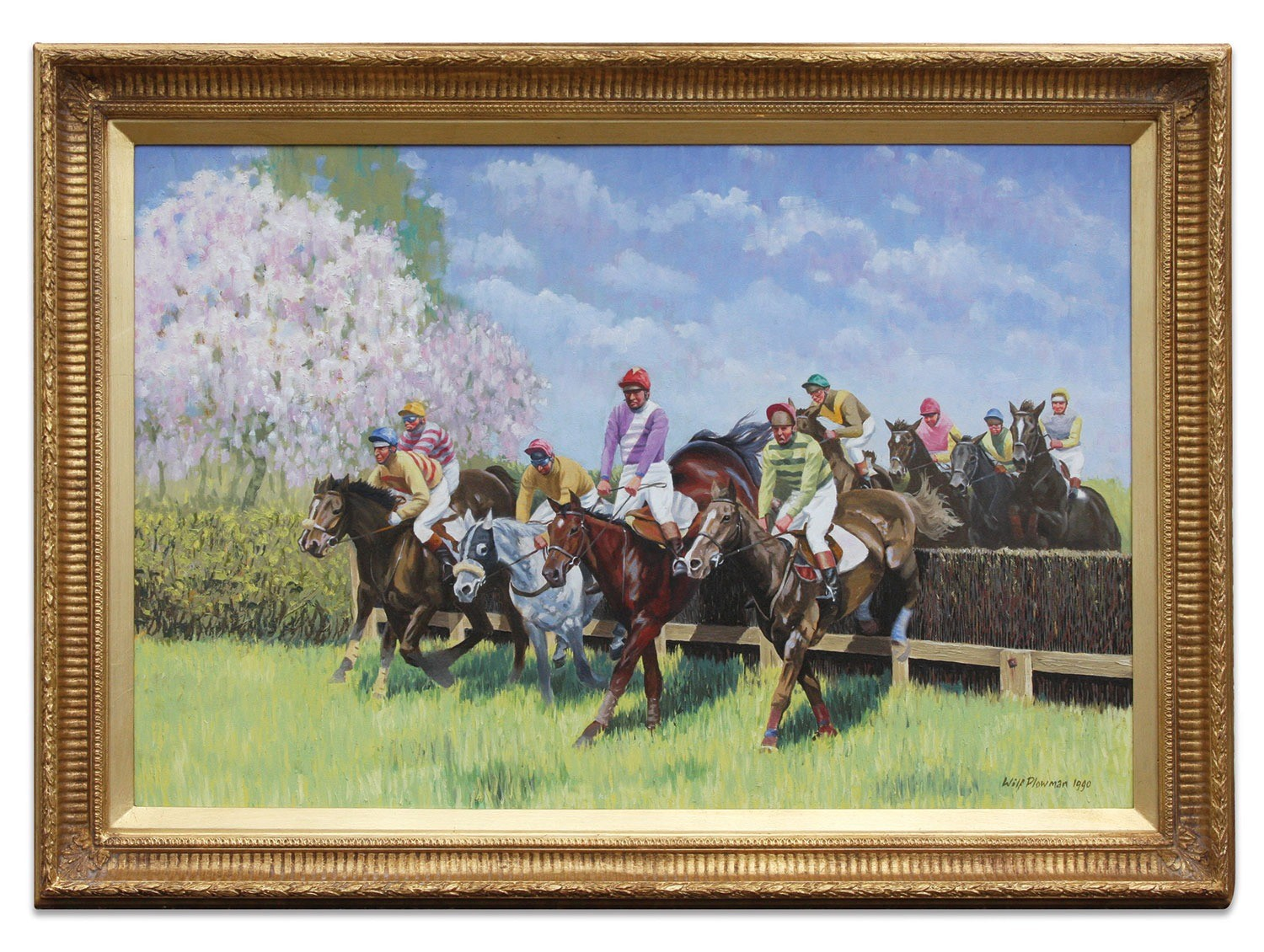 Apple Blossom, a point to point race