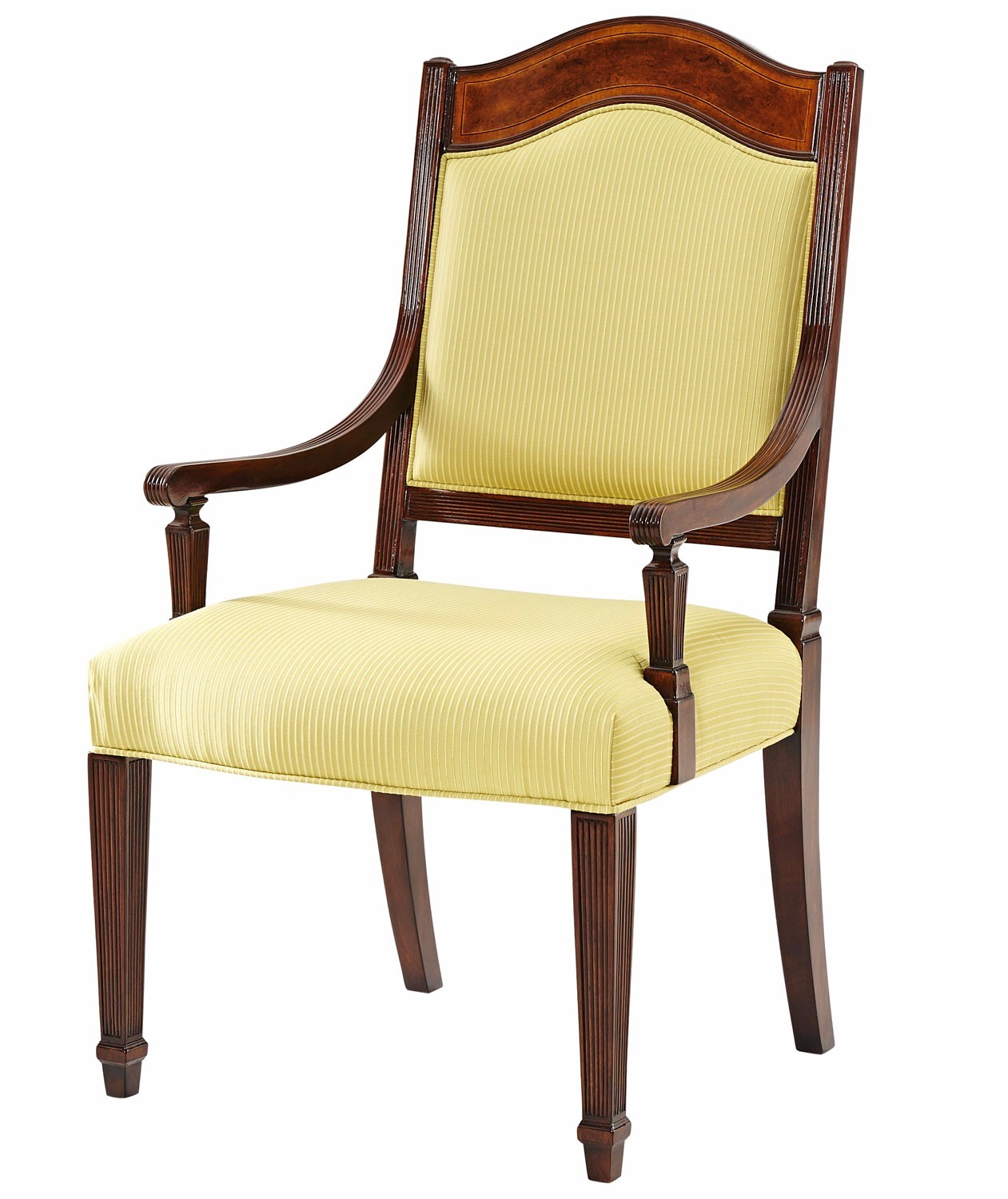 Armchair inspired by an original by Thomas Sheraton