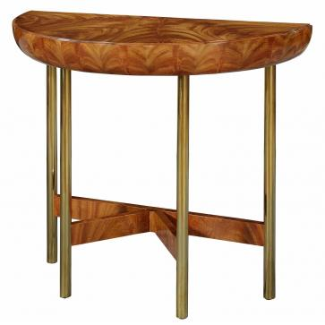 Art Deco style dished console table