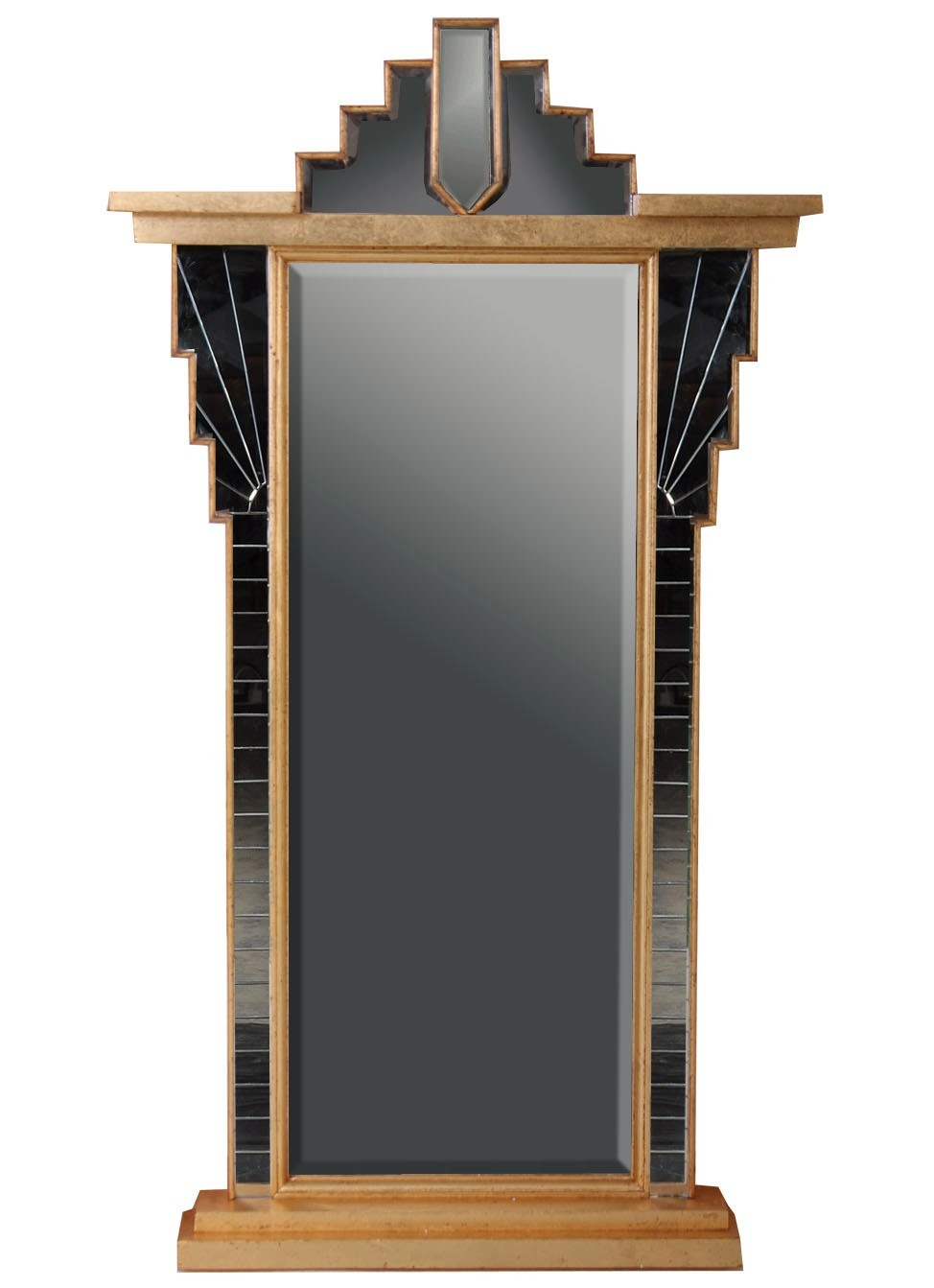 Art Deco Style Mirror Overmantle Mirrors From Brights Of
