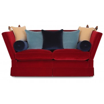 Aston Knole medium sofa in Riffle velvet