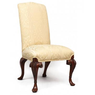 Auntie's dining side chair - sandstone