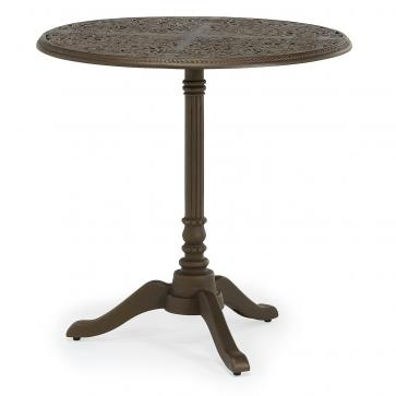 Barrington metal outdoor pedestal table