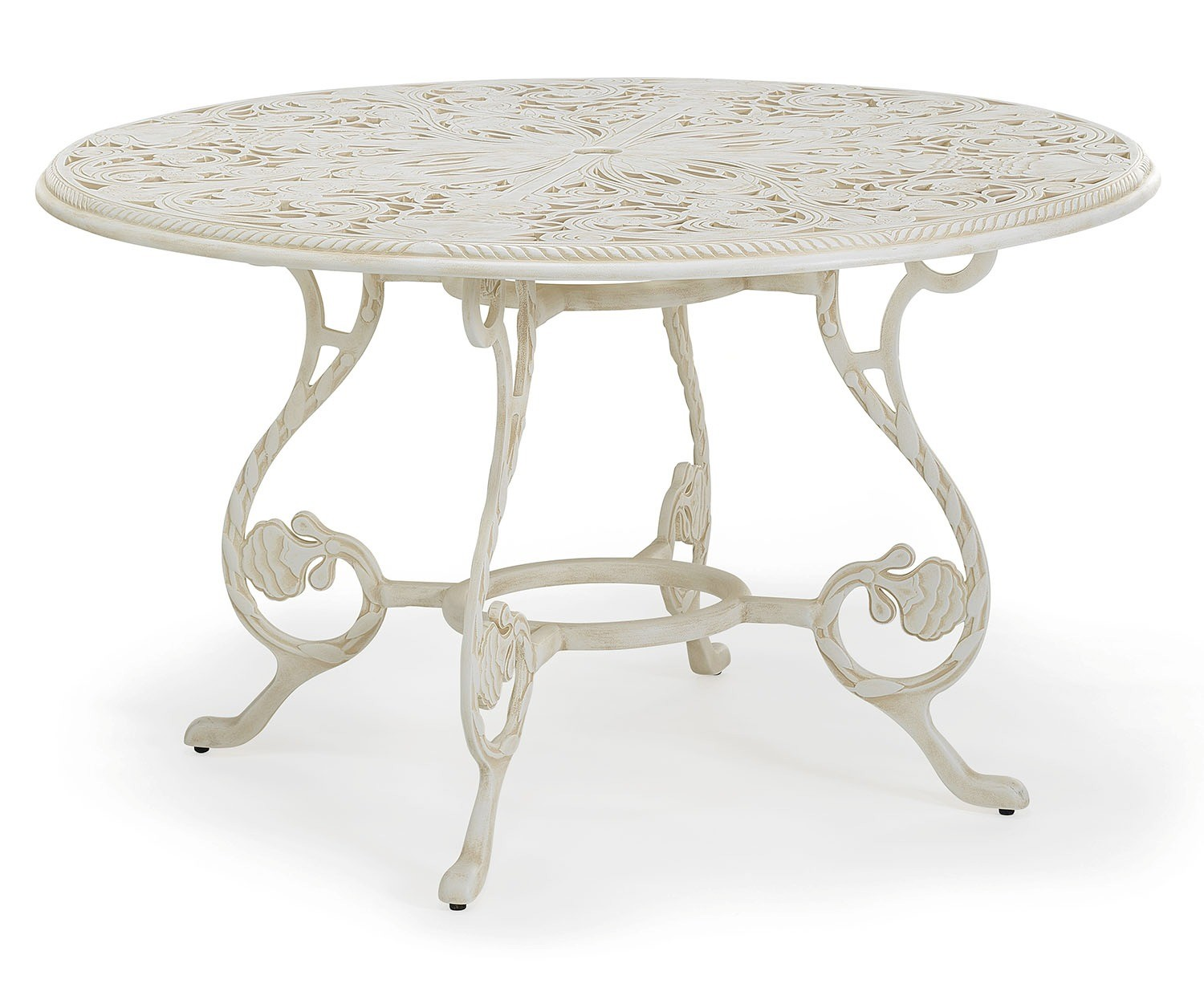 Barrington metal outdoor round dining table
