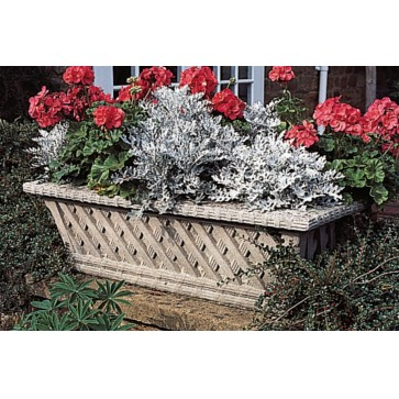 Belton stone garden trough planter