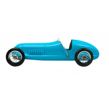 Blue Racer - desk model car