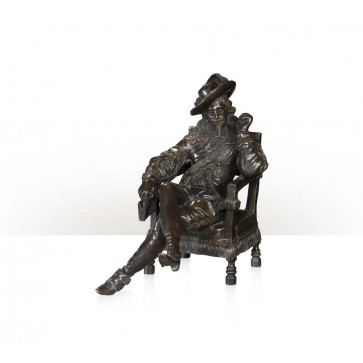 Brass figure of Charles I