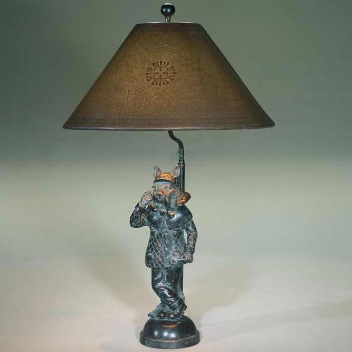 Bronze Cat Table Lamp Table Lamps From Brights Of Nettlebed