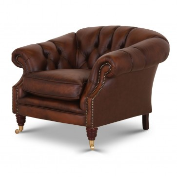 Buckingham chair in Antique Autumn Tan