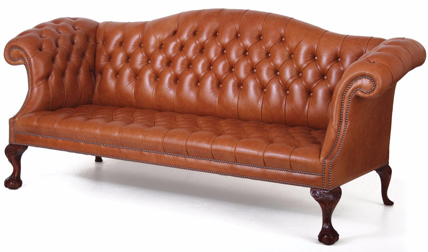 Chatsworth 3 Seat Buttoned Leather Sofa Leather Sofas In Stock From Brights Of Nettlebed