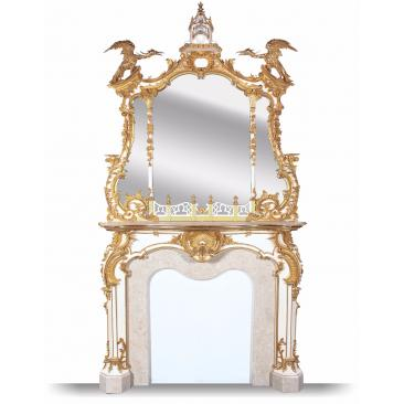 Gilded Mirrors In Period And Antique Looking Styles