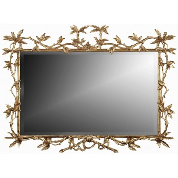 Chippendale style landscape mirror