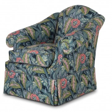 Coleridge chair in Les Fauves Charcoal