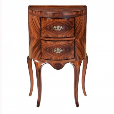 Continental Commode Crotch Mahogany