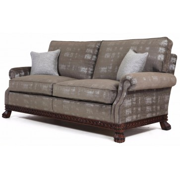Dartington sofa in an elegant velvet