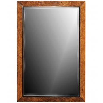 Dorchester burr oak wall mirror