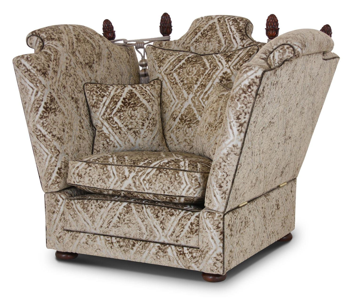 Elizabethan Knole chair in Wemyss Attica