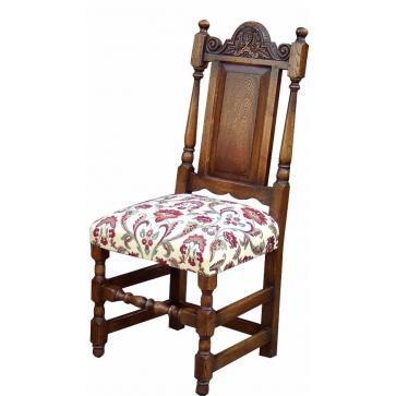 Elizabethan style dining side chair