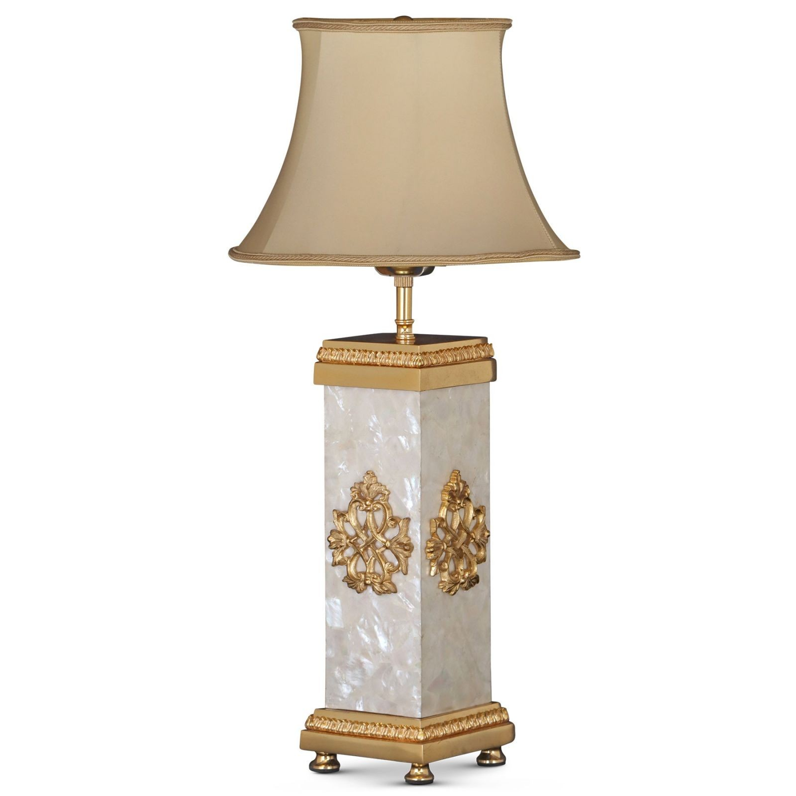 Empire style bronze mounted lamp