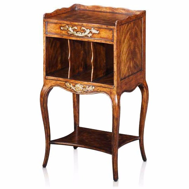 French Provincial lamp table
