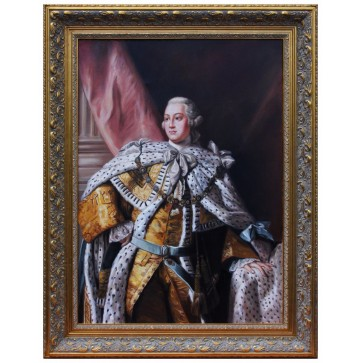 George III royal portrait painting