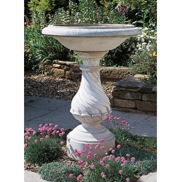 Georgian stone bird bath