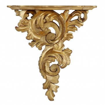 Giltwood wall bracket - large, left facing