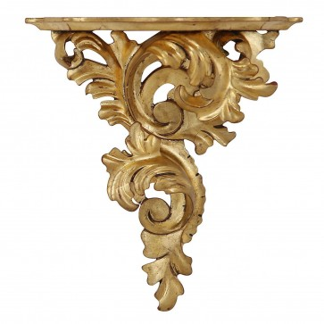 Giltwood wall bracket - large, right facing
