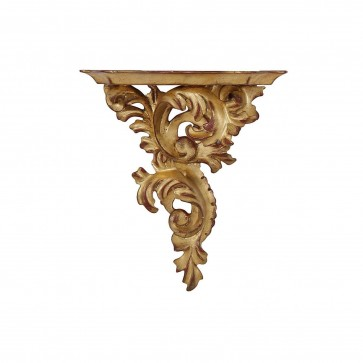 Giltwood wall bracket - small, right facing