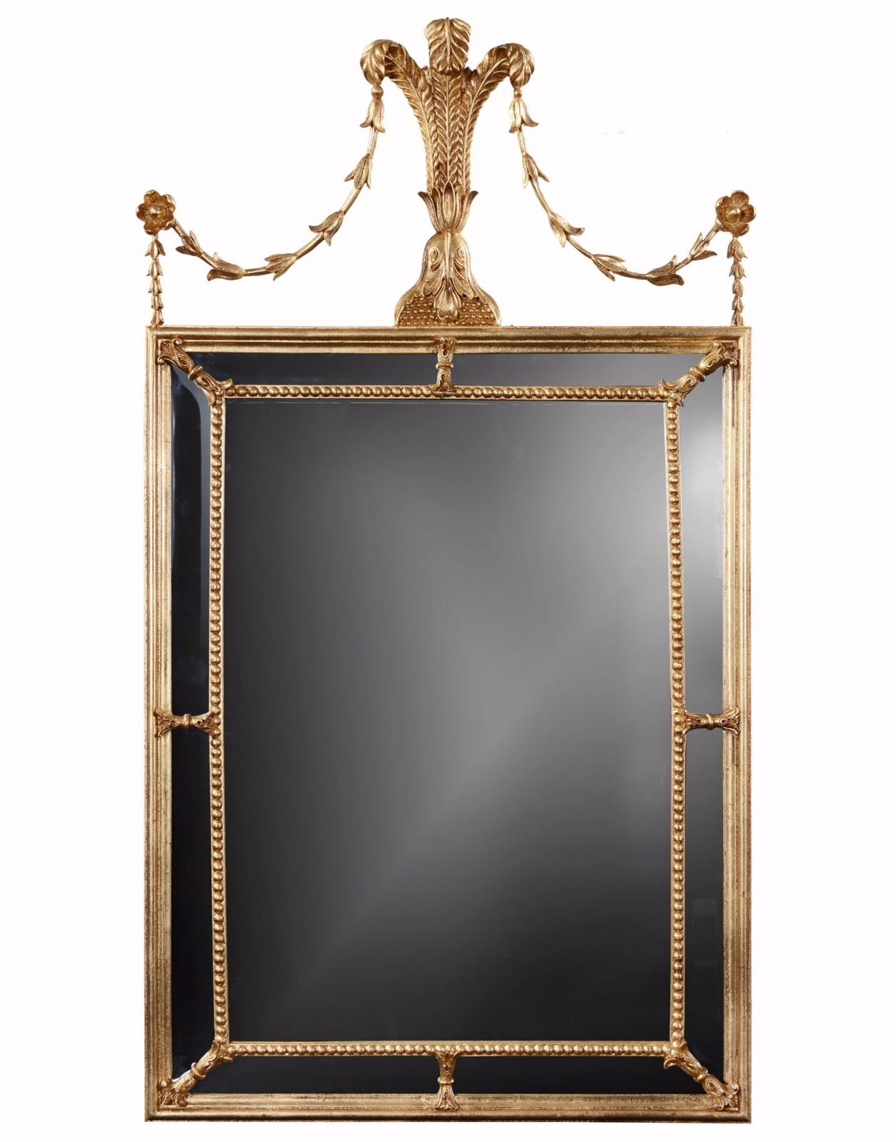 Giltwood wall mirror
