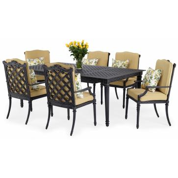 Grande outdoor dining set
