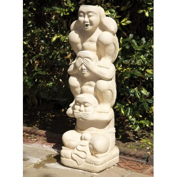 Hand carved water feature