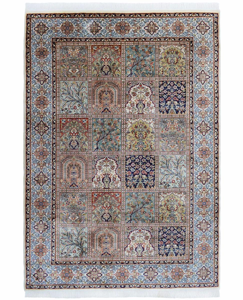hand woven silk pile carpet 122 x 187cm silk rugs from brights of nettlebed. Black Bedroom Furniture Sets. Home Design Ideas