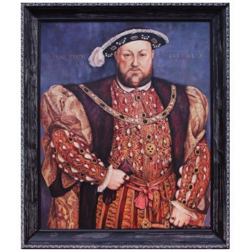 Henry VIII royal portrait painting