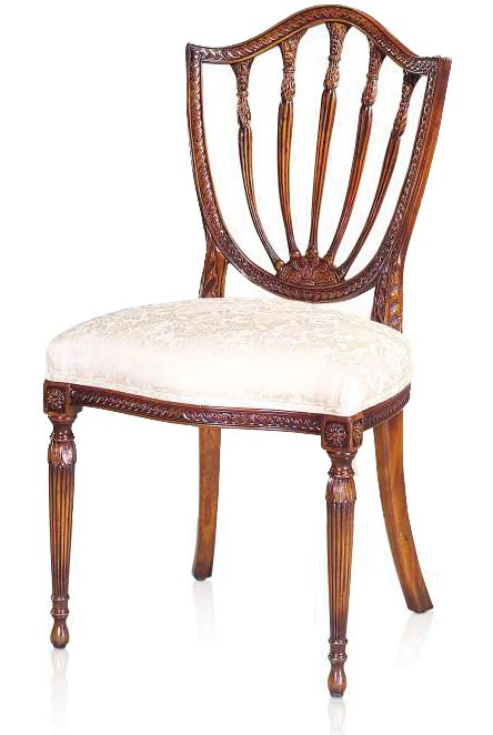 Ordinaire Hepplewhite Style Dining Chair