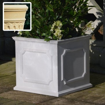 Heritage square stone planter (Medium) - Bath